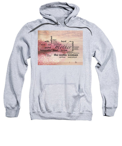"Sweatshirt – ""Noble Woman"" Hooded (Adult)"