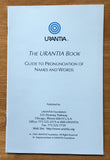 """Pronunciation Guide"" by Urantia Foundation"