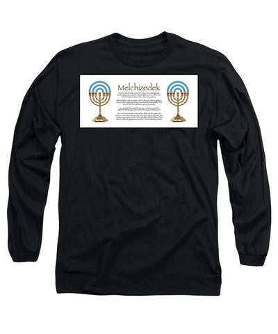 T-Shirt Long Sleeve w/Melchizedek ll Design