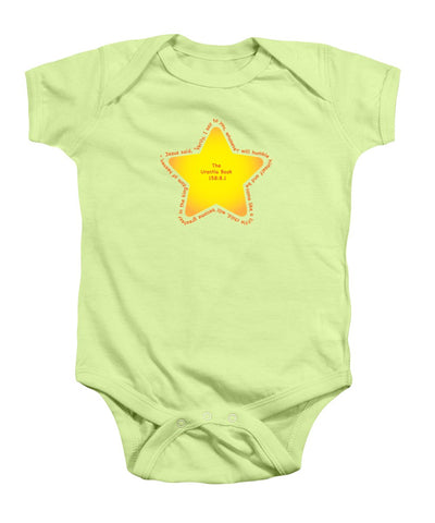 Baby Onesie w/Star Design
