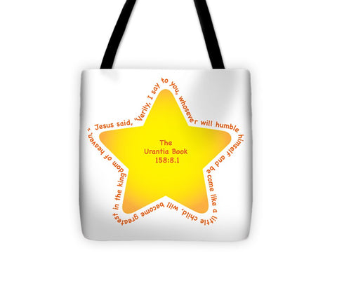 Tote Bag w/Star Design