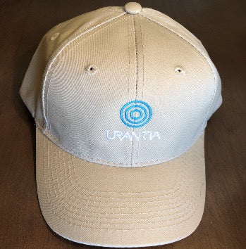 "Ball Cap – ""Urantia"" Embroidered Tan"