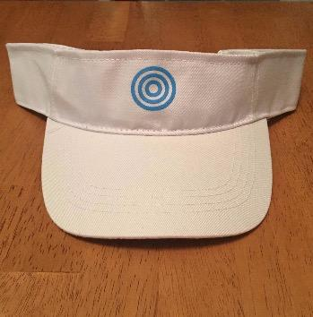 Visor - White Adjustable w/Urantia Logo