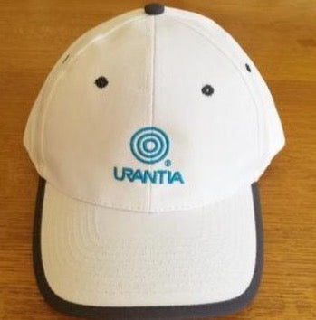 "Ball Cap – ""Urantia"" Embroidered White"