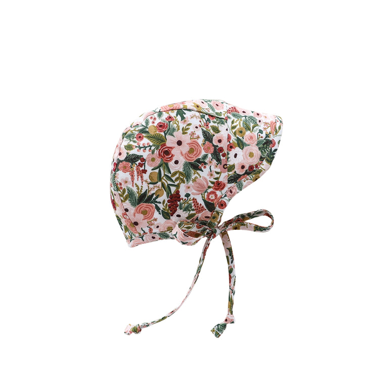 Brimmed Garden Party Bonnet Silk-Lined