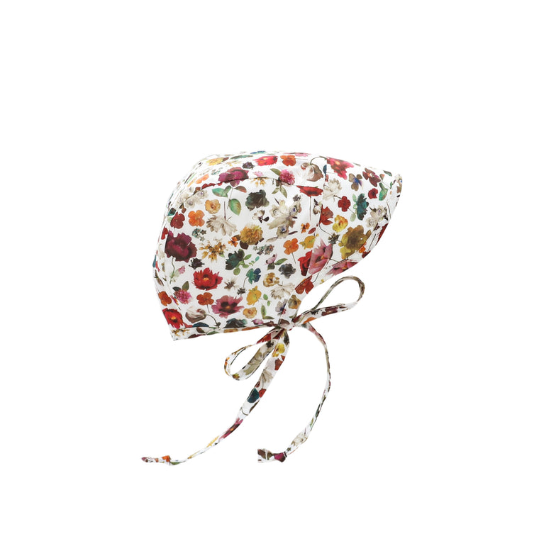 Brimmed Floral Edit Bonnet Silk-Lined
