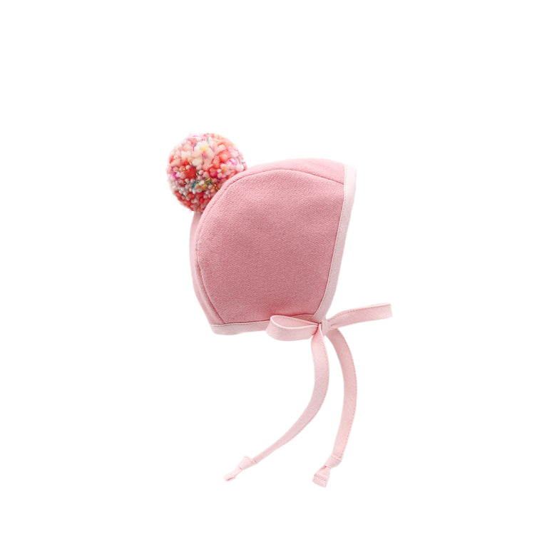 Effervescent Pom Bonnet Silk-Lined