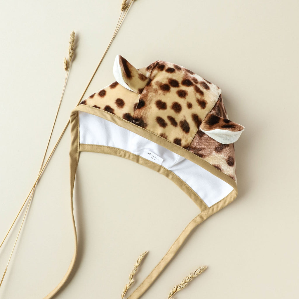 Cheetah Bonnet