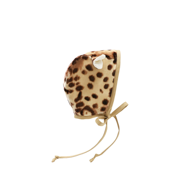 Cheetah Bonnet Silk-Lined