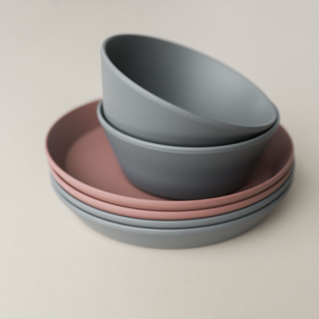 Smoke Dinnerware Bowls (set of 2)