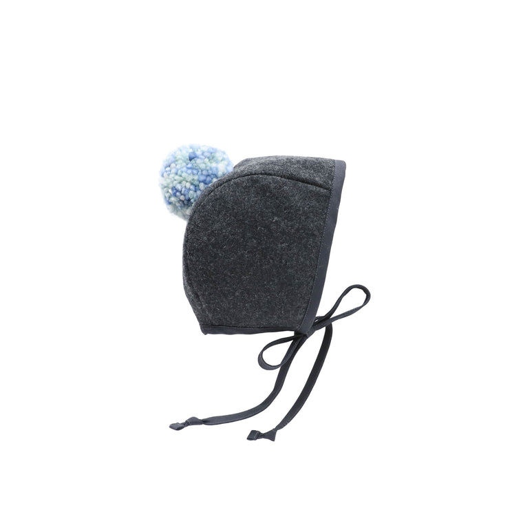 Fable Pom Bonnet Silk-Lined