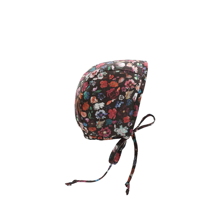Midnight Floral Edit Bonnet Silk-Lined