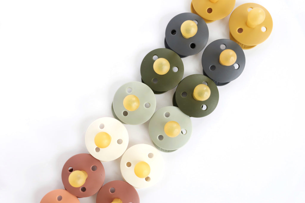 Sage Natural Rubber Baby Pacifier