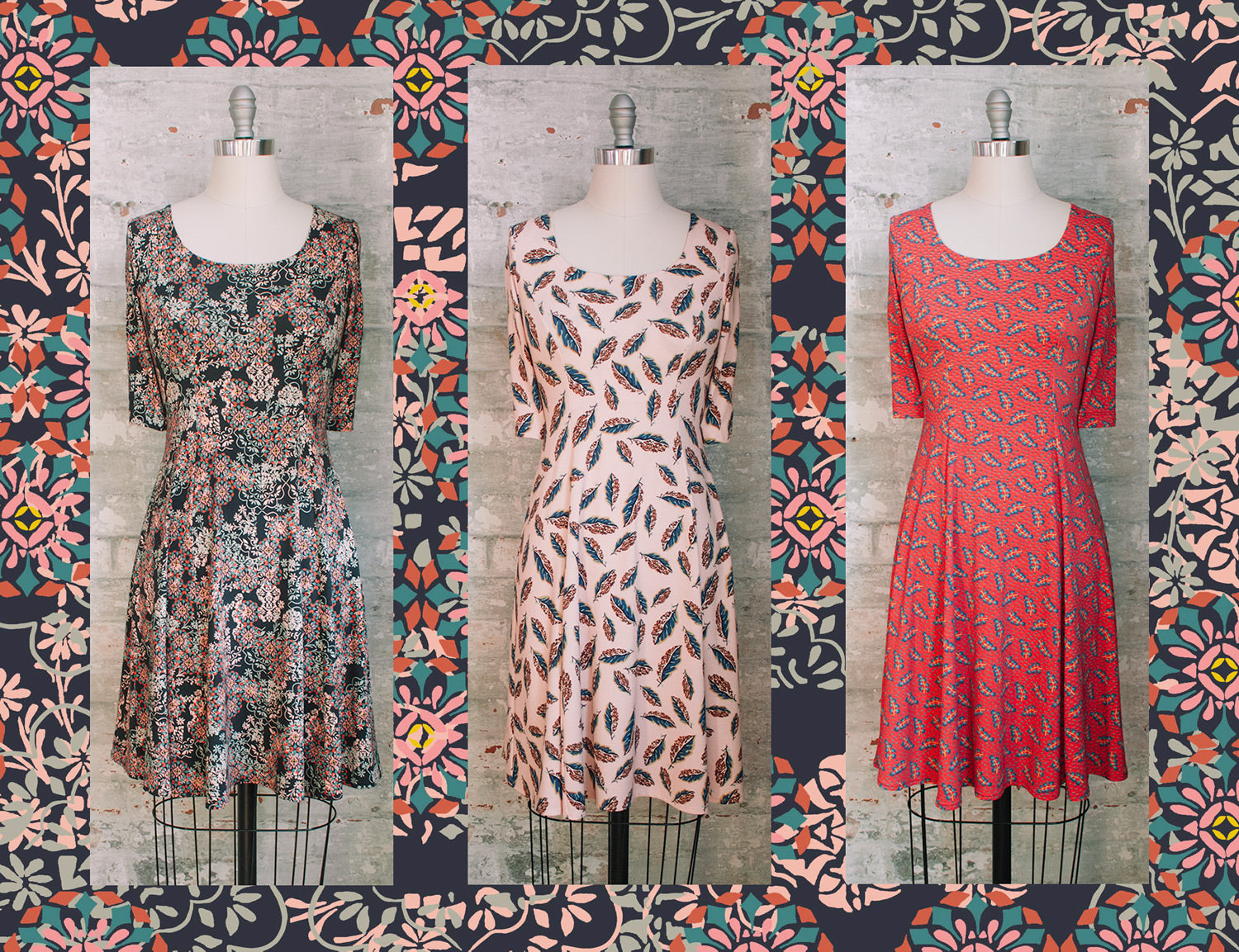 Womens Liberty Print Dresses