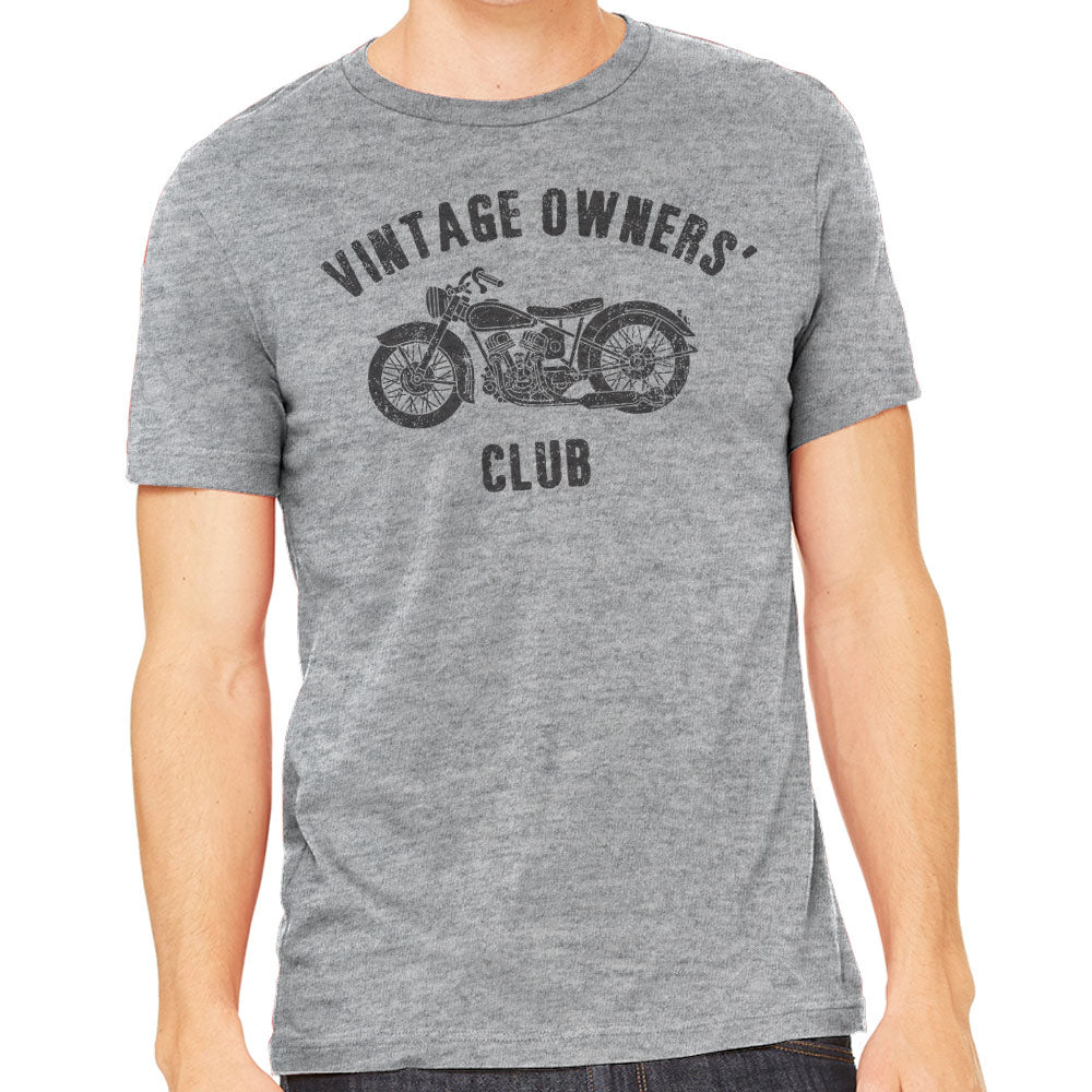 Vintage Owner's Club Men's Motorcycle T-Shirt