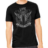 Life Behind Bars Men's Motorcycle T-Shirt