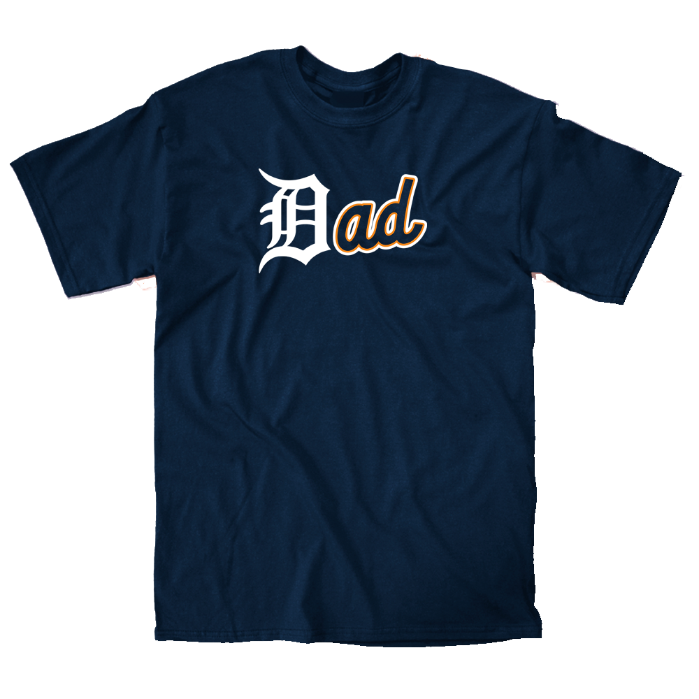 Tigers Dad Shirt