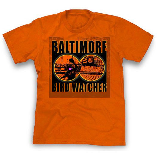 Men's Shirt - Baltimore Bird Watcher Baltimore Baseball T-Shirt
