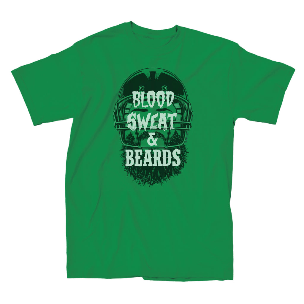 Men's Shirt - Blood, Sweat, & Beards Football
