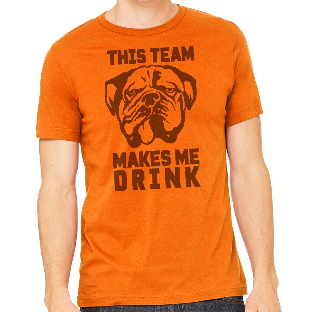 Men's Shirt - Cleveland Makes Me Drink T-Shirt