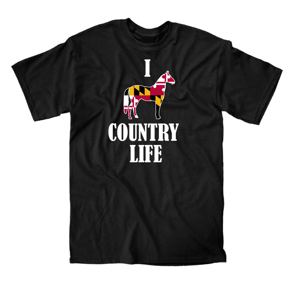 Men's Shirt - I Love Country Life