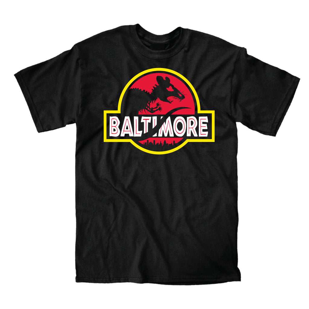 Jurassic Baltimore (Black) - Super Fan Style - 1