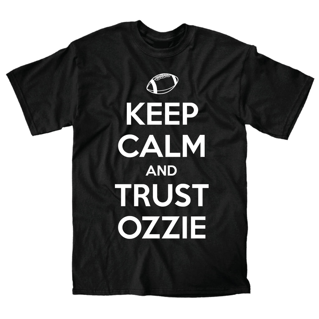 Keep Calm Ozzie (Black) - Super Fan Style - 1