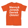 Manny & Jones & Davis & Ohhh Shirt - Super Fan Style - 2