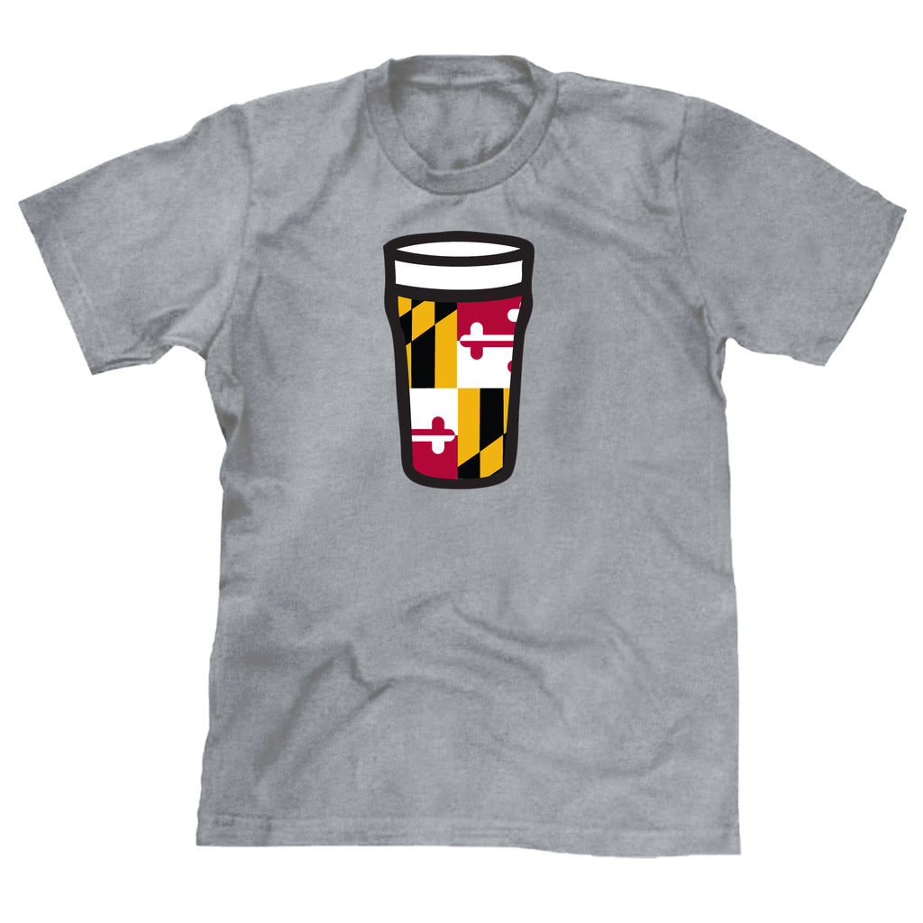 Maryland Flag Beer - Super Fan Style - 1
