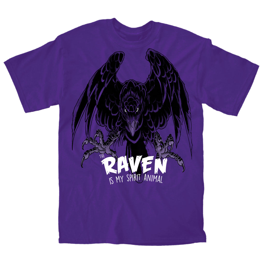 The Raven is My Spirit Animal - Super Fan Style - 1