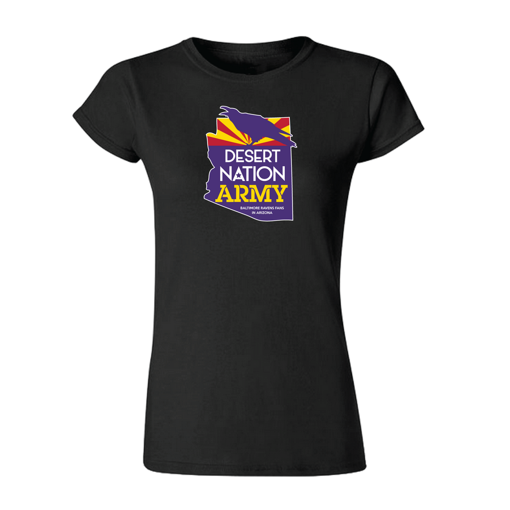 Women's Shirt - Official Desert Nation Army Womens Shirt