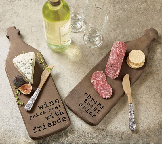 Wine Shaped Board Set