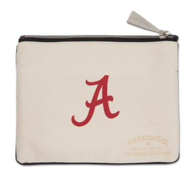 University of Alabama Zip Pouch