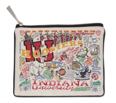 Indiana University Zip Pouch