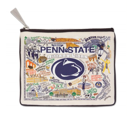 Penn State University Zip Pouch