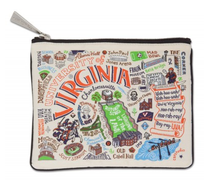 University of Virginia Zip Pouch