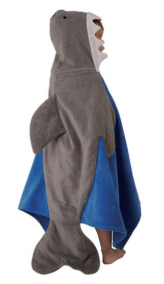 Shark Hooded Towel