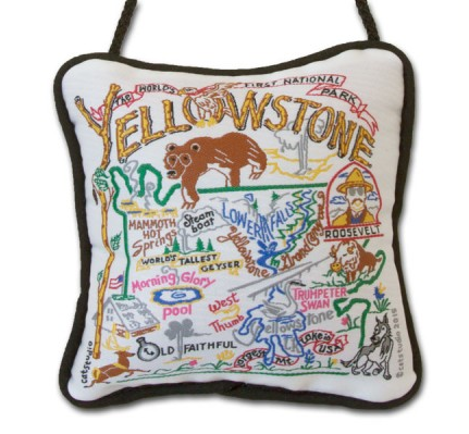 Yellowstone Mini Pillow