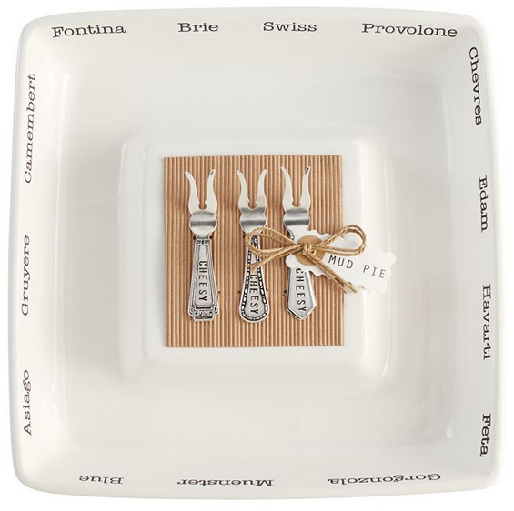 Cheese Island Serving Set from Mud Pie