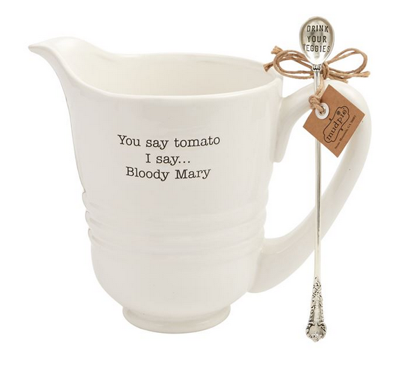 Bloody Mary Pitcher Set from Mudpie
