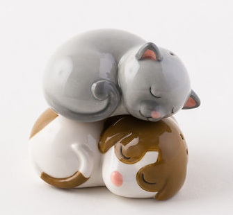 Dog and Cat Salt and Pepper
