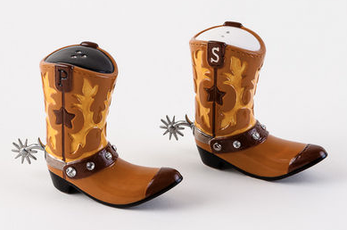 Cowboy Boot Salt and Pepper