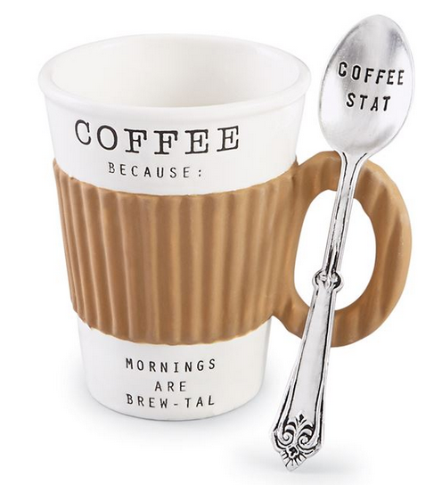 Corrugate Sleeve Coffee Mugs