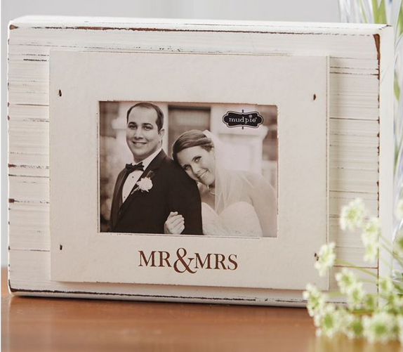 Mr & Mrs Block Frame