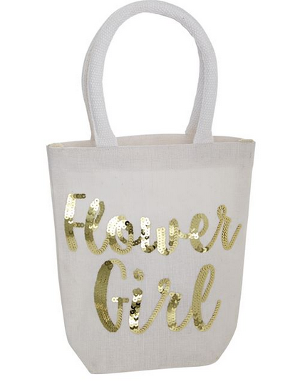 Flower Girl Dazzle Tote