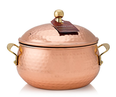 Simmered Cider Copper Pot Candle by Thymes