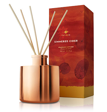 Simmered Cider Petite Reed Diffuser by Thymes