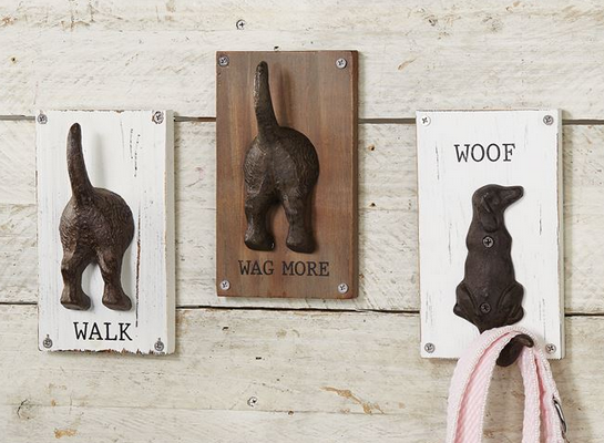 Dog Leash Hangers