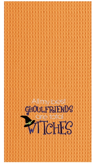 All My Best Ghoulfriends Towel