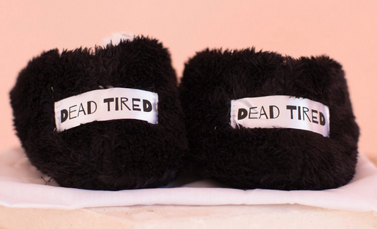 Dead Tired Cozy Cute Footsies by FacePlant